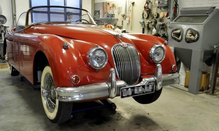 Restauratie Jaguar XK150S