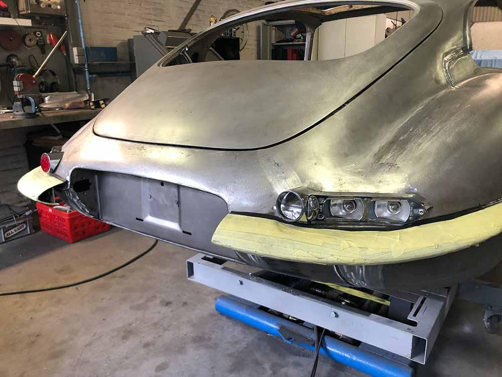 Totaal restauratie Jaguar E-type
