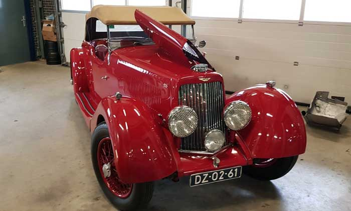 Aston Martin 1936