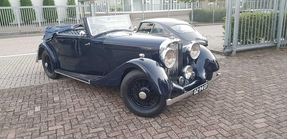 Bentley 4¼ liter Drophead Coupé