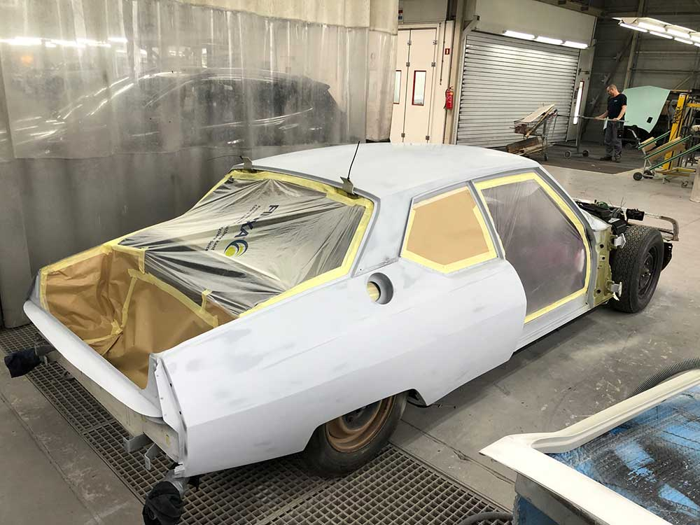 Restauratie Citroën SM