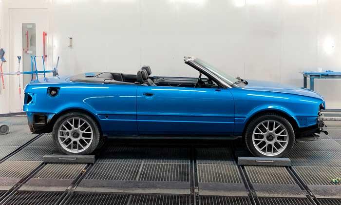 Restauratie Audi Cabrio