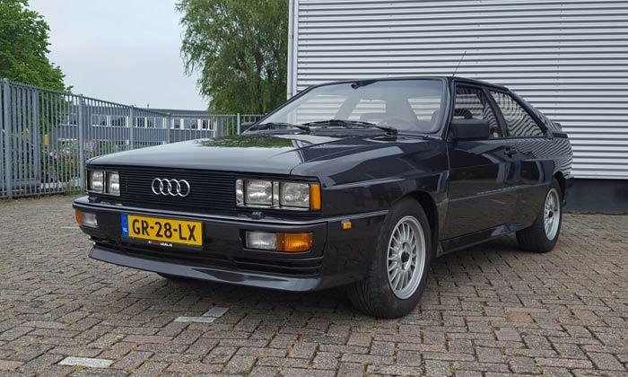 Restauratie Audi Quattro