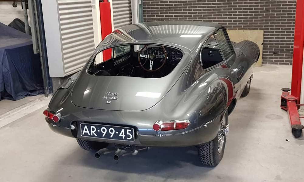 Restauratie Jaguar E-type