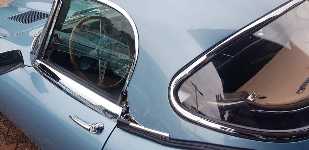 Restauratie Jaguar E-type cabriolet