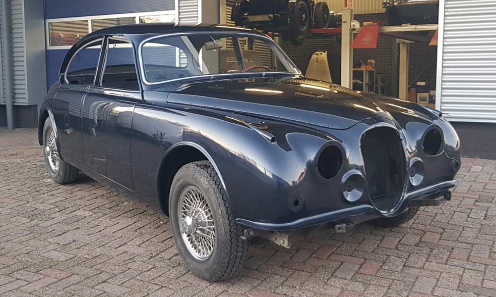 Restauratie Jaguar Mark II