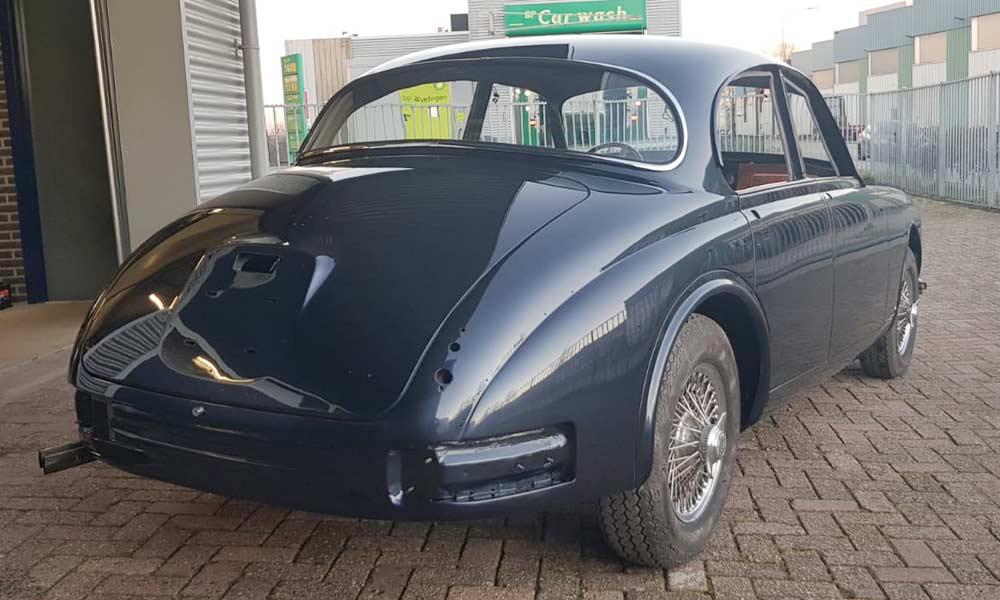 Restauratie Jaguar Mark II