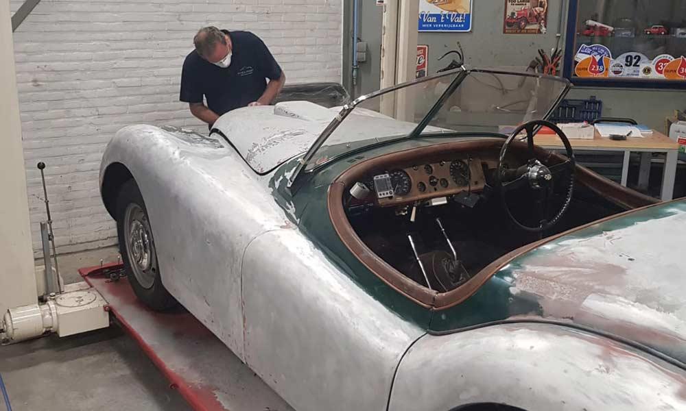 Restauratie Jaguar XK120