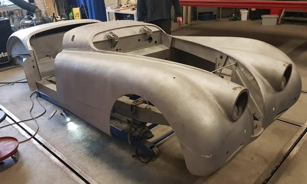 Restauratie Jaguar XK120 OTS Markus