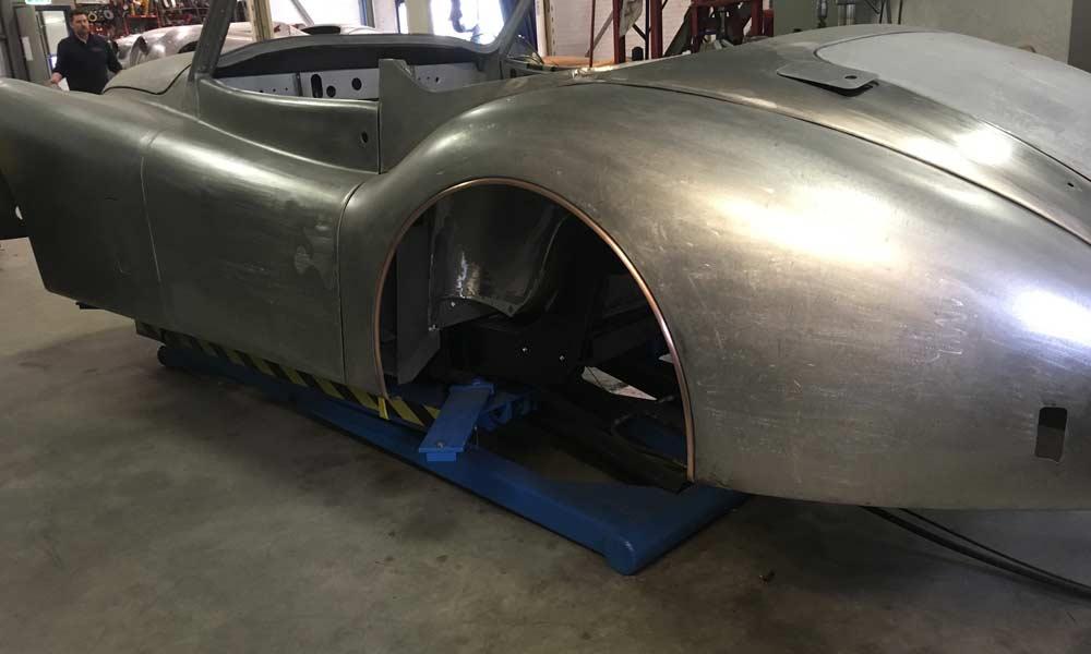 Restauratie Jaguar XK140