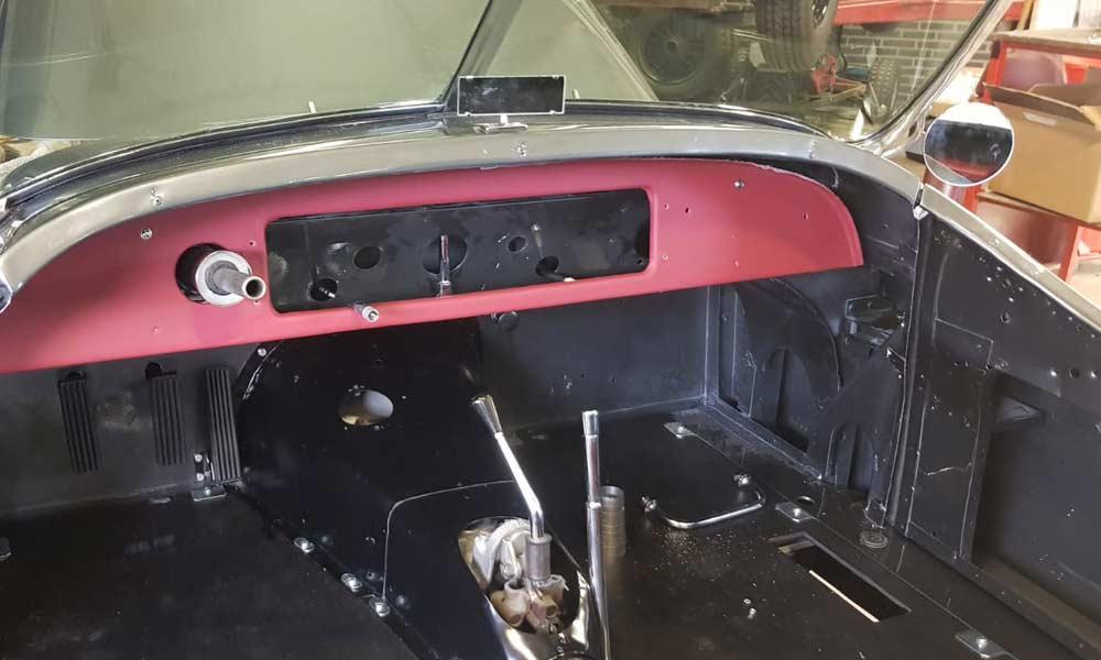 Totaal restauratie Jaguar XK120